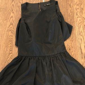 ZARA black little dress